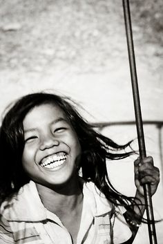 Smile! A language of the heart we can all understand, speak, receive and give.