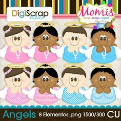 Angels - $3.00 : DigiScrap Latino