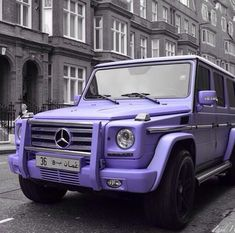 purple matte mercedes g wagon - Google Search