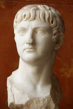 Bust of Germanicus (15 BC–19 AD) Louvre