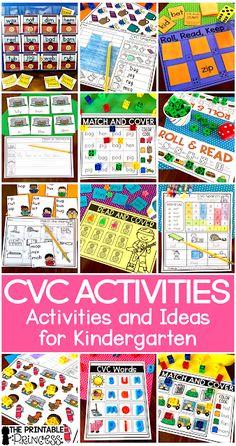 CVC words are kind o
