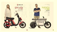 Crazy cool KATALIS electric motorcycle PROJECT from Indonesia combines futuristic design, retro styling and it is influenced by Anime cartoons!