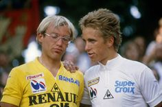 Laurent Fignon & Greg Lemond