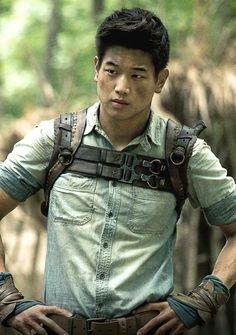 "Ki Hong Lee  as Minho in ""The Maze Runner"" (2014)"