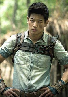 """Ki Hong Lee  as Minho in """"The Maze Runner"""" (2014)"""