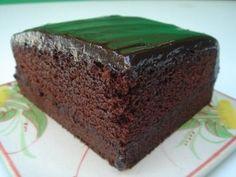 kek coklat eggless