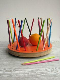Pencil Tidy Fruit Bowl