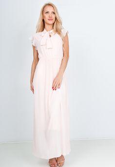 Dlhé ružové šaty s viazaním - ROUZIT.SK Bridesmaid Dresses, Wedding Dresses, Fashion, Bridesmade Dresses, Bride Dresses, Moda, Bridal Gowns, Fashion Styles, Weeding Dresses