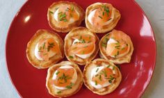 Cheat's Blinis with Smoked Salmon