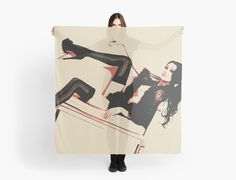 Sexy Brunette girl in stockings by piciareiss   Also Available as T-Shirts & Hoodies, Men's Apparels, Women's Apparels, Stickers, iPhone Cases, Samsung Galaxy Cases, Posters, Home Decors, Tote Bags, Pouches, Prints, Cards, Mini Skirts, Scarves, iPad Cases, Laptop Skins, Drawstring Bags, Laptop Sleeves, and Stationeries #sexy #erotic #art