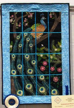 Bear Creek Quilt Guild that is. Their Quilt Show was last weekend. And I was there. With my trusty camera. Just for you. Here are some of my favorites:  Wow. That's all I can say about …