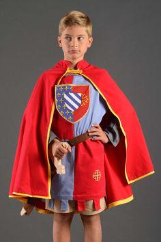Déguisement garçon cape chevalier - Duché de Normandie