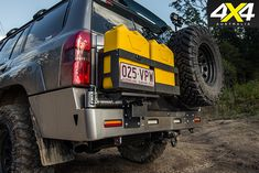 Nissan Patrol Optimizer 6500 jerry cans Nissan Patrol Y61, Patrol Gr, 4x4 Accessories, Jerry Can, Diesel Engine, Land Cruiser, Rigs, Offroad, Monster Trucks