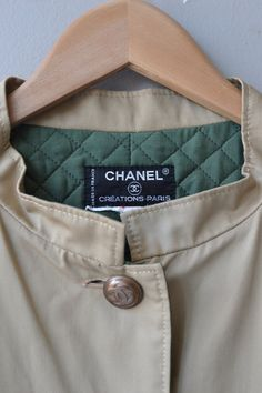 Chanel suit vintage quilted jacket and skirt by DearGolden