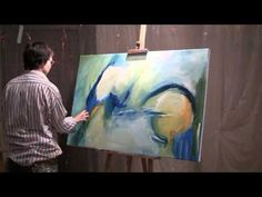 """Inevitable Beauty"" - The Artist Hines talks about Abstract Painting.wmv - YouTube Painting Videos, Painting Lessons, Diy Painting, Art Lessons, Art Techniques, Abstract Art, Abstract Paintings, Art Tutorials, Pastels"