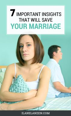 These are truths that everyone needs to remember as they work towards saving their marriage. Think about this: one insight may be all you need to work things out and get back on track in your marriage, so if you are having marital problems of any kind, read all of the following facts.