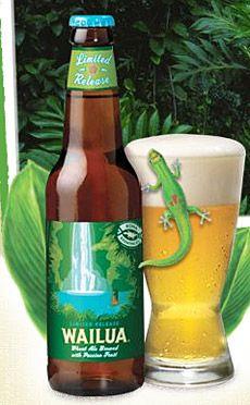 Wailua Wheat Ale w/ passion fruit Malt Beer, Poster Store, Beers Of The World, Wheat Beer, Beer Snob, Beer Brands, Brew Pub, Beer Label, Root Beer