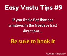 The placement of windows is vital for your new flat. #vastu, #VastuShastra