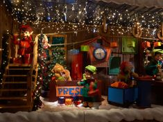 MK Illumination helped Tivoli Friheden create a feeling of hygge with holiday lighting, festive decorations and gorgeous fiberglass and animatronic characters… Festival Decorations, Holiday Lights, Hygge, Denmark, Xmas Lights