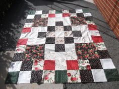 Quilt Top......58x70 approximately  by KountreeCreations on Etsy