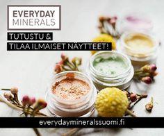 100% luonnollinen mineraalimeikkisarja vihdoin Suomessa! Tutustu ja  tilaa ilmaiset näytteet.  http://urly.fi/y2a   http://urly.fi/y2a