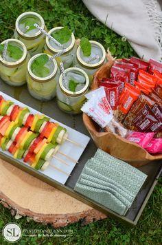 Healthy Summer Snacks with Taste of Nature | backyard play & craft #realtastesgood - bystephanielynn