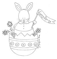 Cute little Easter stitchery (just gotta change the wording!)
