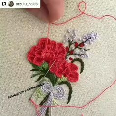 Amazon store offers thousands of embroidery-related products you can order now Hand Embroidery Patterns Flowers, Hand Embroidery Videos, Hand Embroidery Flowers, Hand Embroidery Tutorial, Machine Embroidery Projects, Hand Embroidery Stitches, Silk Ribbon Embroidery, Crewel Embroidery, Embroidery Kits