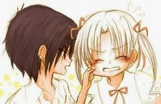 Natsume and Mikan - Gakuen Alice Gintama, Hyouka, Kawaii Chan, Kawaii Anime, I Love Anime, Me Me Me Anime, Alice Academy, Natsume And Mikan, Tous Les Anime