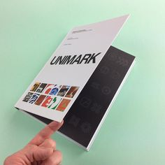 On CP: 'Unimark International' showcasing its work for clients such as Olivetti Pirelli IBM Ford Gillette and many more. Find it on Counter-Print.co.uk #counterprintbooks #unimark #unimarkinternational
