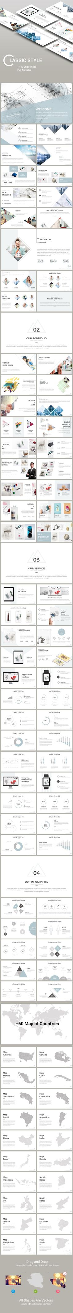 Classic Style Presentation Templates - #PowerPoint Templates Presentation Templates Download here: https://graphicriver.net/item/classic-style-presentation-templates/19973830?ref=alena994