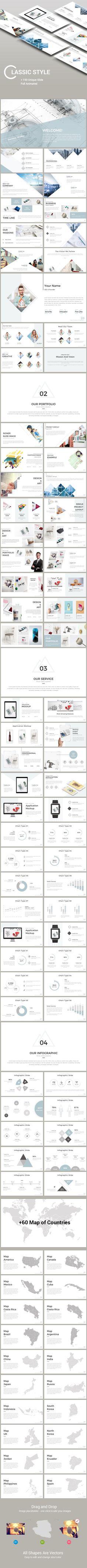 Classic Style Presentation Templates - #PowerPoint Templates Presentation Templates Download here: https://graphicriver.net/item/classic-style-presentation-templates/19973830?ref=alena994