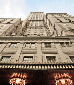 The Pierre Hotel NYC is 39 floors and sits on 5th avenue, overlooking Central Park.