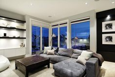 Amanda Hamilton Design - Aspen Estates Residence - Media Room