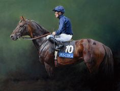 Yeats. Limited Edition Horse Racing Print by Sean McMahon