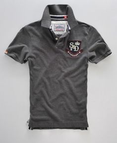 Featuring a comprehensive selection of colours and designs, our range of men's polo shirts has something for every style. Sports Polo Shirts, Polo Rugby Shirt, Mens Polo T Shirts, Tee Shirts, Camisa Polo, Teen Boy Fashion, Dark Fashion, Polo Shirt Design, Casual Party Dresses