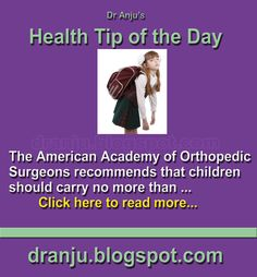 Health Tip of The Day - 3rd July