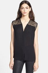 See Price For Halston Heritage Lace Silk Top Here : http://www.thailandpriceza.com/go.php?url=http://shop.nordstrom.com/S/halston-heritage-lace-silk-top/3687846?origin=category&BaseUrl=All+Women%27s+Clothing