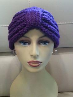 Knit Chemo Cap Turban