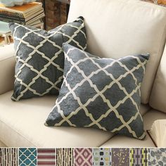 INSPIRE Q Montvale 20-inch Toss Accent Pillow (Set of 2) - Overstock Shopping - Great Deals on INSPIRE Q Throw Pillows