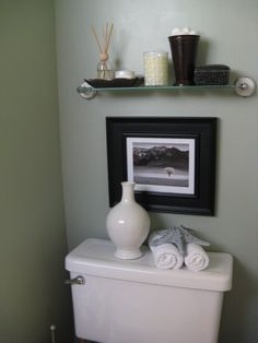 Simple and Cute for the guest bathroom