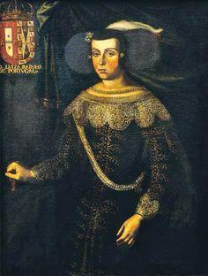 Portrait de Luisa de Guzmán, reine du Portugal