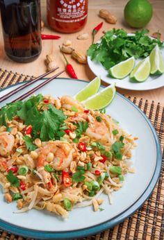Pad Thaï …sauce aux arachides épicée! #pad #thaï #arachides #épicée #recette #repas #souper