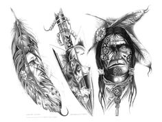 native american tattoos | Crazy Pictures Ideas: Native American Tattoo Designs
