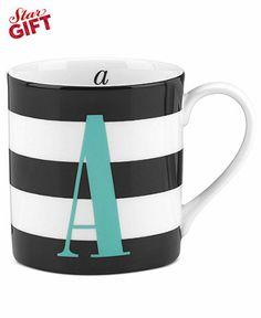 Kate Spade monogram mug. love.