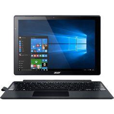"Refurbished Acer 12"" Tablet 2.3 GHz Core i3-6100U 4 GB Ram 128 GB SSD Windows 10 Home #SA5-271-37QB"