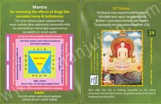 """""""#Mantra For Removing the effects of drugs like cannabis hemp and belladonna"""" in English Cards For more mantra visit @ http://www.drmanjujain.com"""