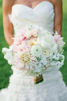#Bouquet | See the wedding on SMP - http://www.stylemepretty.com/little-black-book-blog/2014/01/02/rustic-tented-historic-cedarwood-wedding/ Kristyn Hogan Photography