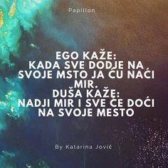 Na latinskom jeste. Ali latinski je odavno iščezao iz govora. Ego danas svi nešto napadaju. Za to što se ljutimo. Za to što planemo brzo. Za to što smo takvi kakvi smo. Za sve je ego kriv. Mozda i …