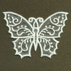 Organza Decorative Butterfly 1 - 4x4   What's New   Machine Embroidery Designs   SWAKembroidery.com Ace Points Embroidery